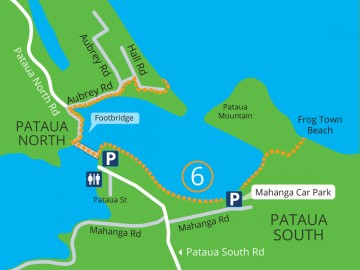 Pataua South and North walks