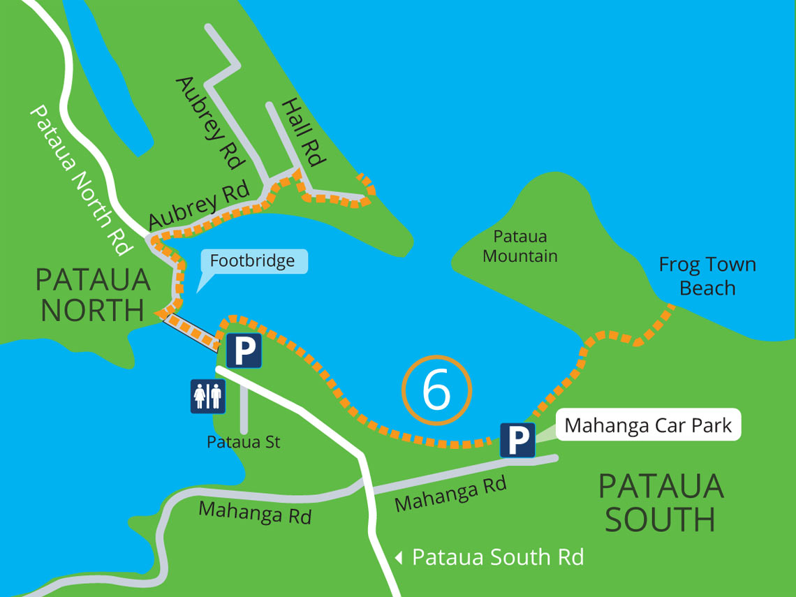 Pataua South and North walks