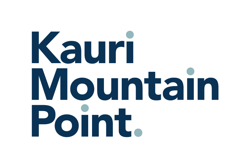 Kauri Mountain Point Logo