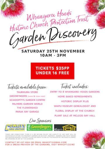 Whangarei Heads Garden Discovery Tour