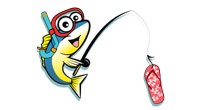 Fish and Jandal Logo