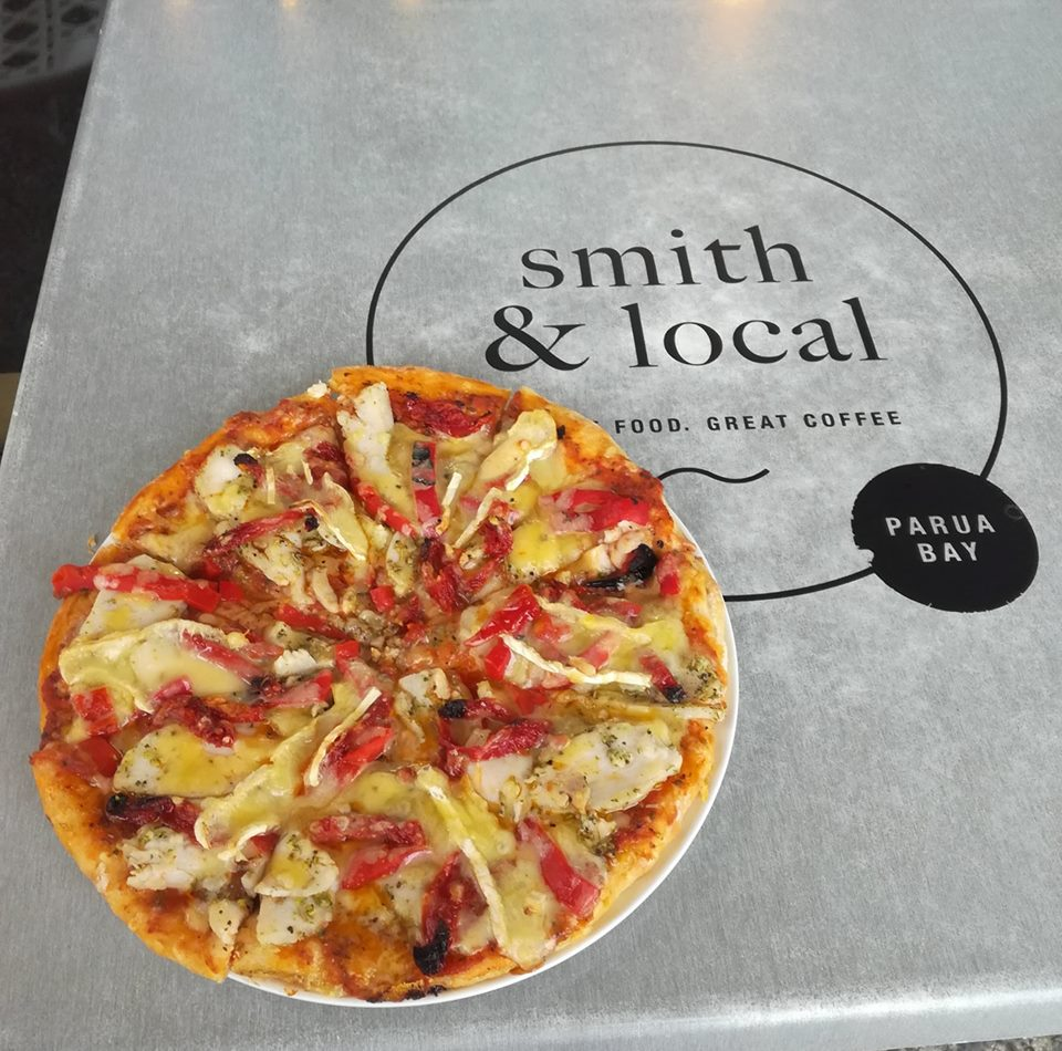 Pizza at Smith and Local